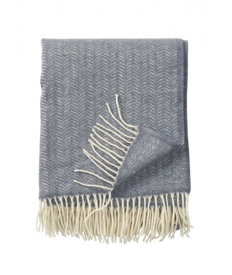 Wool throw Tippy grey melange