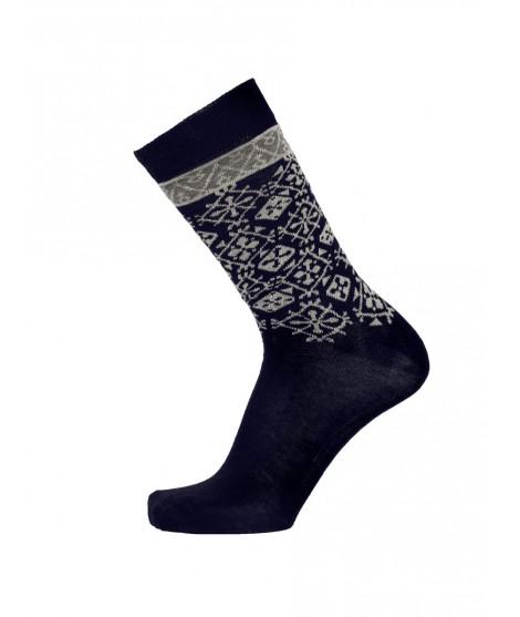 Ponožky z merino vlny Fjallnas navy