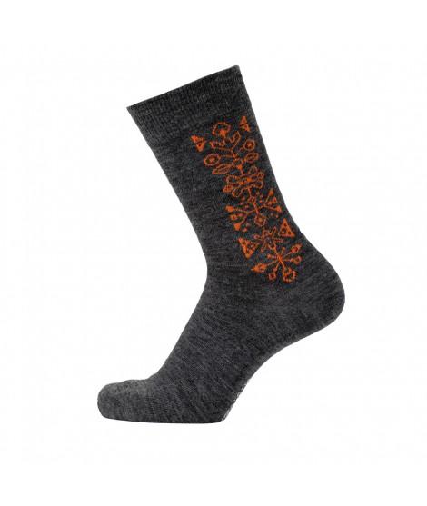 Merino socks Tradition antracite