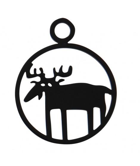 Přívěsek na klíče Moose black