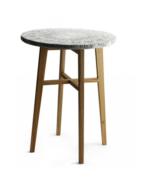 Stolek Evelyn Coffee table 66xØ50 cm
