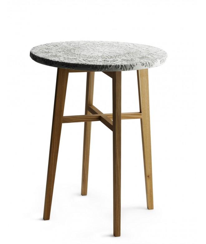 Stolek Evelyn Coffee table 66xØ50 cm