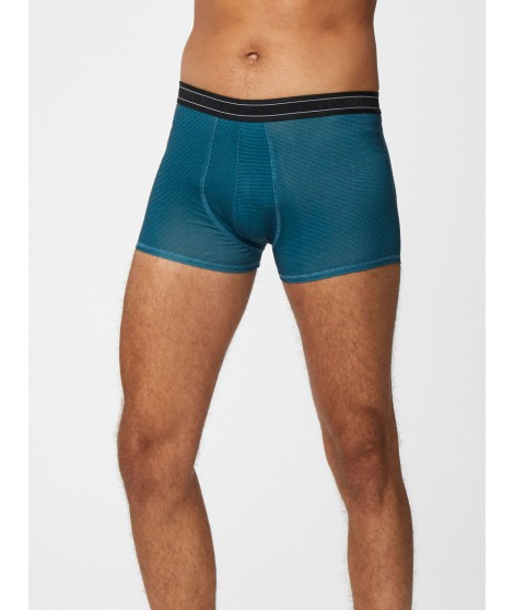 Bamboo boxers Michael lagoon blue