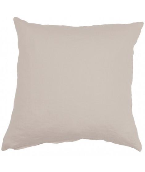 Linen cushion cover Linn beige