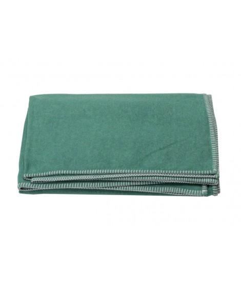 Cotton blanket SYLT dark green