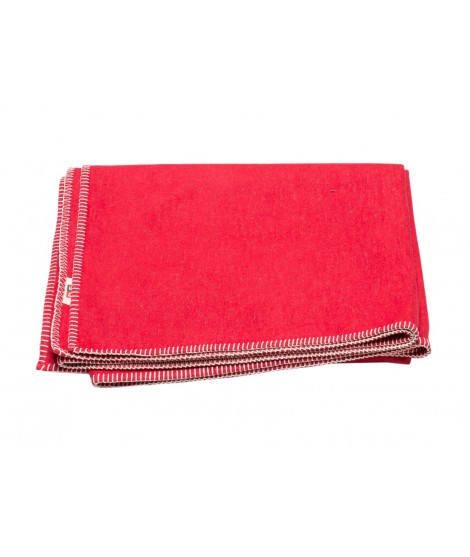 Cotton blanket SYLT red