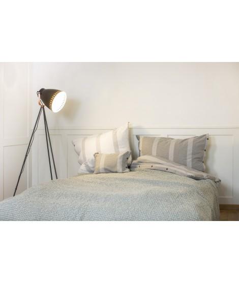 Cotton bedspread VIGO glass green 220x240