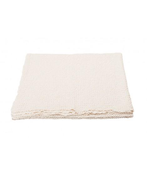 Cotton bedspread VIGO offwhite 220x240