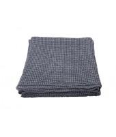 Cotton bedspread VIGO blue grey 220x240