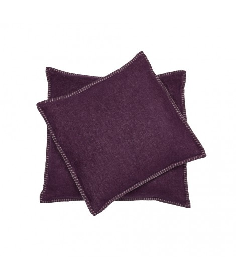 Cotton cushion SYLT grape