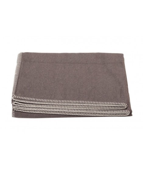 Cotton blanket SYLT brown