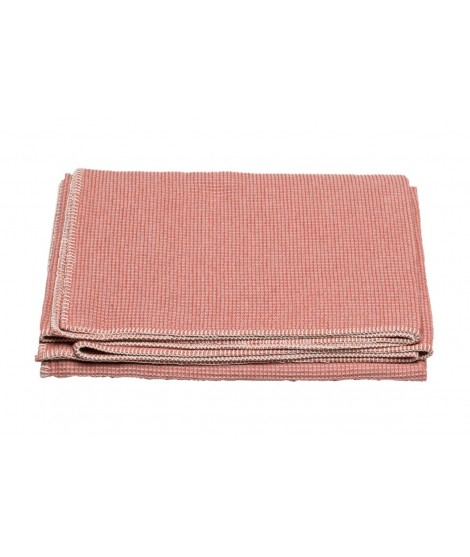 Cotton blanket  LIDO rouge