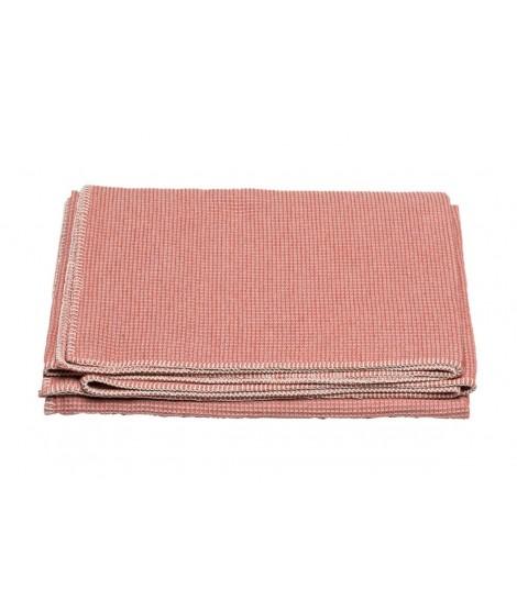 Cotton blanket  LIDO rouge