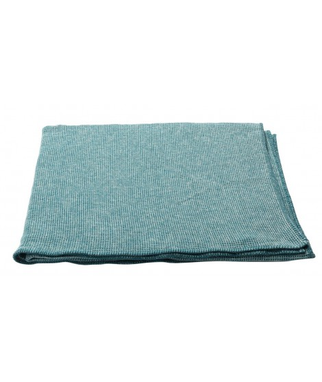 Cotton blanket  LIDO forest green