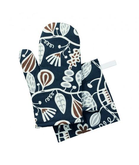 Kuchyňská rukavice-chňapka Botanical garden