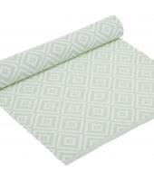 Běhoun na stůl Boel pastel green 45x150