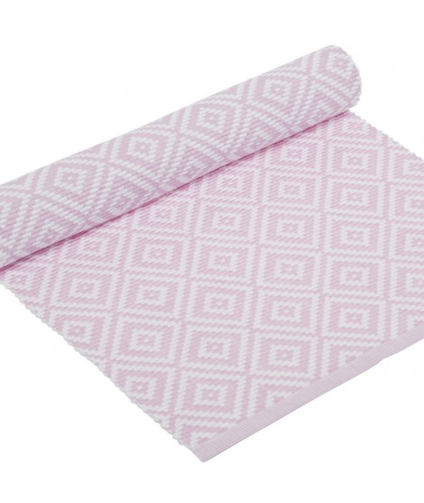 Table runner Boel pastel pink 33x120