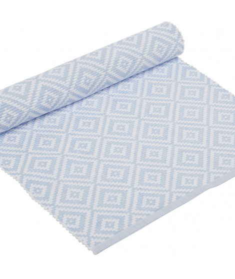 Table runner Boel pastel blue 33x120