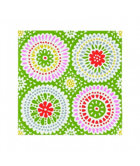 Paper napkins Louise green 33x33 20ks