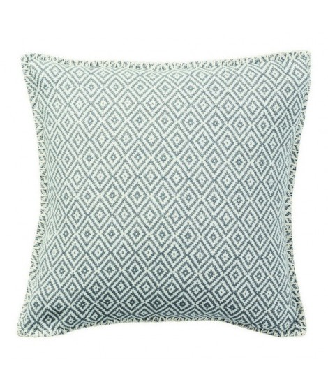 Cotton cushion cover Stella grey 45x45