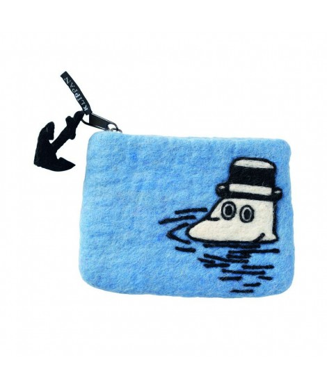 Purse Moomin at sea 14x10