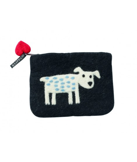 Purse Dog black 14x10