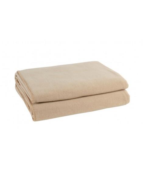 Fleecová deka Soft-Fleece sand
