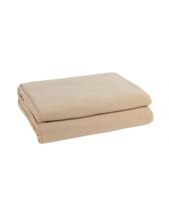 Přehoz na postel Soft-Fleece sand