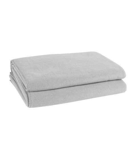 Bedspread Soft-Fleece light grey