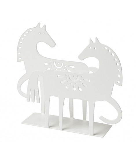 Napkin holder Happy Horse white