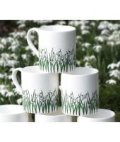 Porcelánové hrnky Snowdrops 250ml