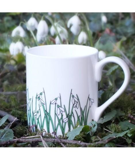 Porcelain mug Snowdrops 250ml
