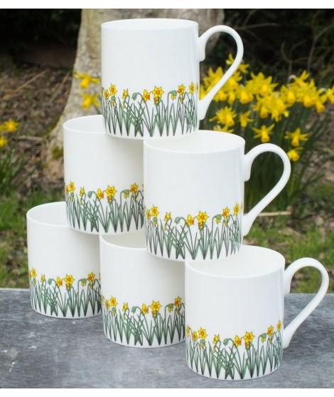 Porcelánové hrnky Daffodils 250ml