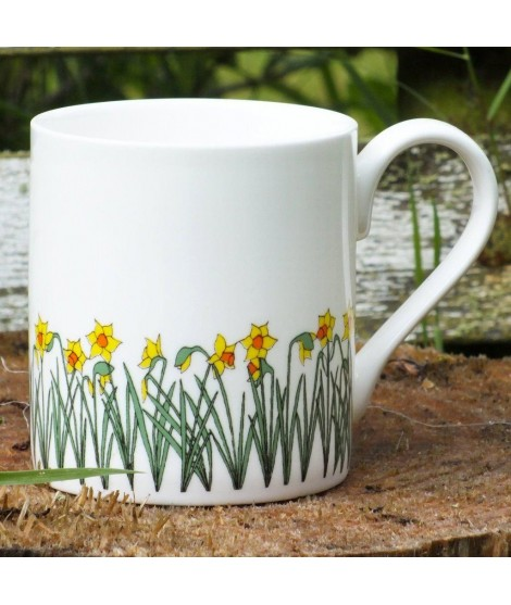 Porcelain mug Daffodils 250ml