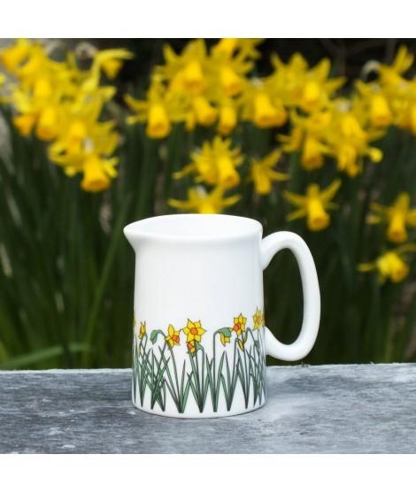 Milk jug Daffodils