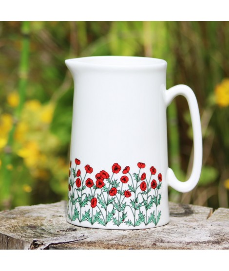 Jug Poppies 500ml