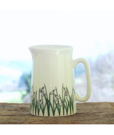 Milk jug Snowdrops