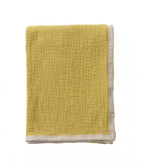 Bavlněná deka Decor mustard 125x170