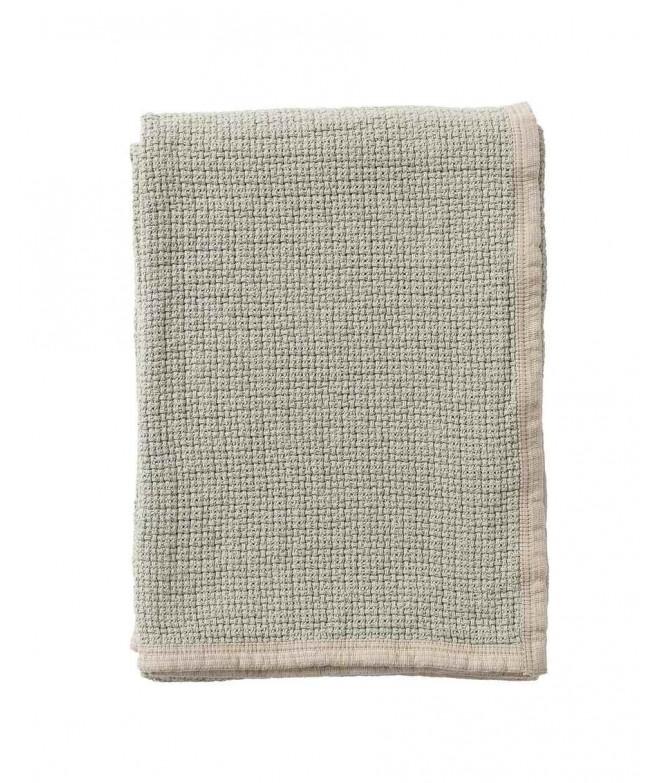 Bavlněná deka Decor dusty green 125x170
