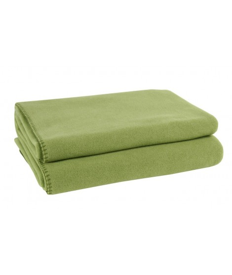 Fleece blanket Soft-Fleece green