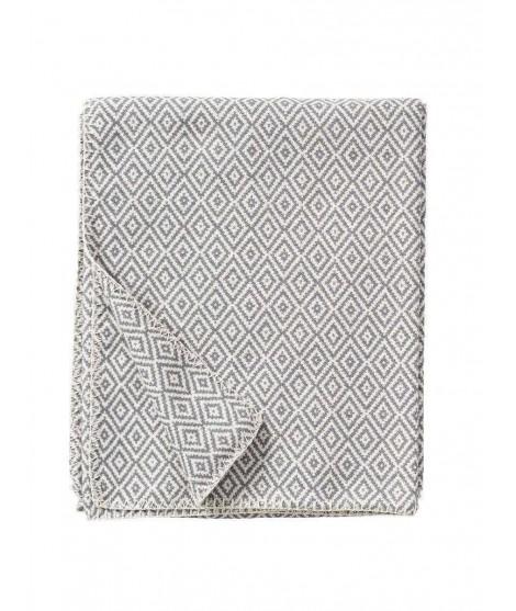 Bavlněná deka Stella grey 140x180