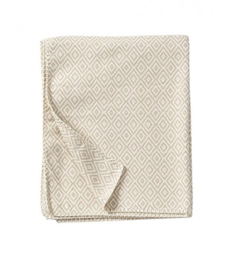 Cotton blanket Stella beige 140x180