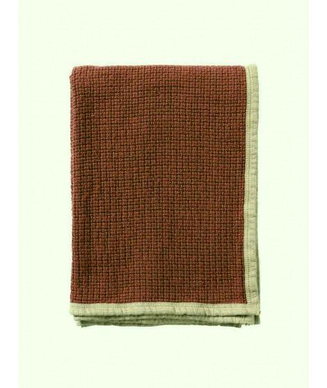 Bavlněná deka Decor rust 125x170