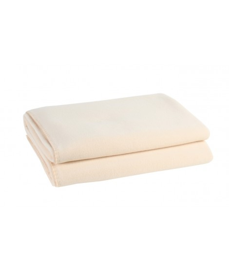 Bedspread blanket Soft-Fleece cream