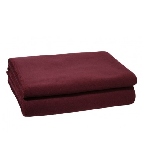 Bedspread blanket Soft-Fleece wine