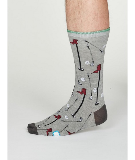 Bamboo socks Perry Sport Golf grey