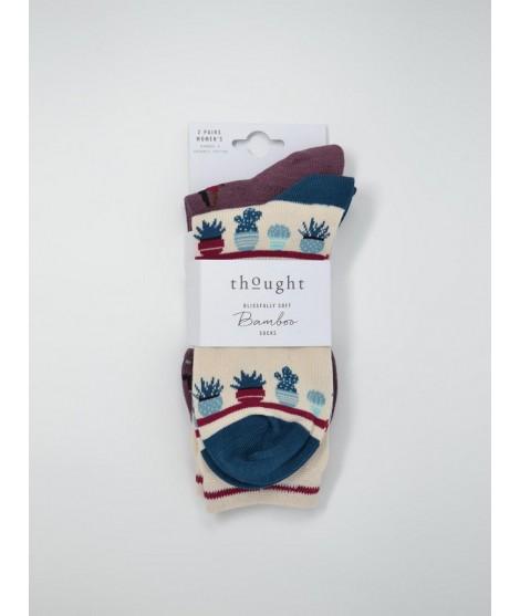 Bamboo socks Yogi 2-pack 37-40