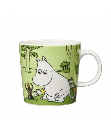 Porcelain mug Moomintroll glassgreen 300ml