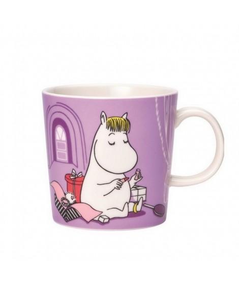 Porcelain mug Moomin Snorkmaiden lila 300ml