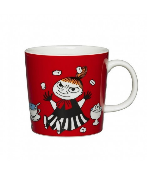 Porcelain mug Moomin Little My red 300ml